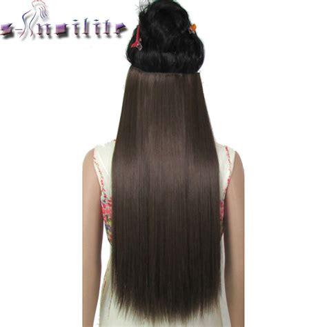 noilite long women clip  hair extensions  piece