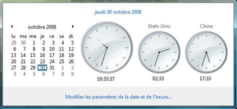 afficher horloge sur bureau afficher horloge sur bureau 28 images infos technos