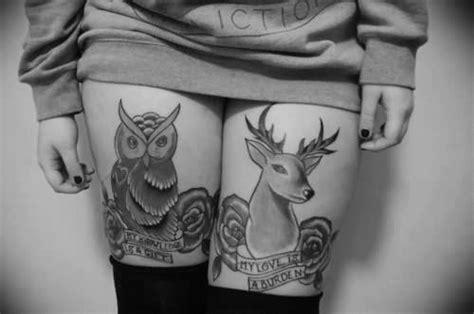 Tete De Cerf Tatouage Animaux D Enfant En Tatouage 37 Inkage