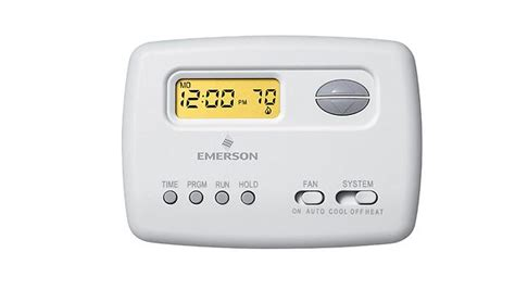 Emerson Thermostat User Manual Wiring Data