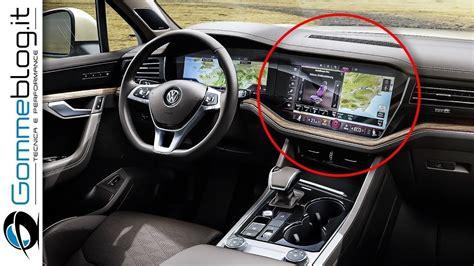 vw touareg tdi  interior  concept car