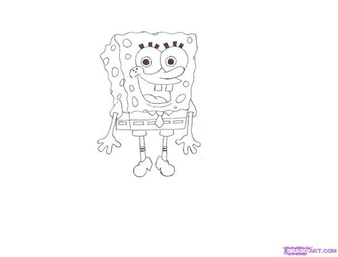 How To Draw Spongebob Characters, Step By Step