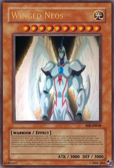yugioh neo spacian deck winged neos yu gi oh card maker wiki cards decks
