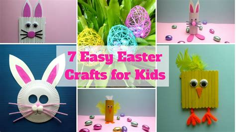 easy easter crafts  kids easter craft ideas youtube