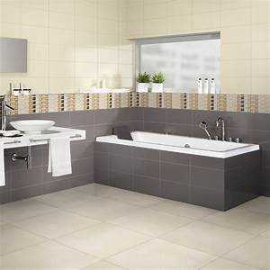 beautiful salle de bain beige marron 3 indogate faience With salle de bain beige marron