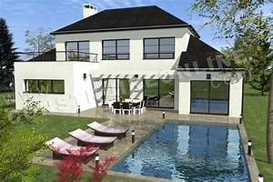 Plan De Maison Moderne DECIMA