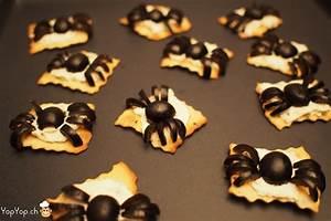 Recette Apéro Halloween : recette pour halloween amuse bouche araign e en olive ~ Melissatoandfro.com Idées de Décoration