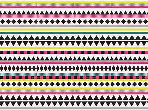 8 Best Images of Neon Tribal Print Backgrounds - Vector ...
