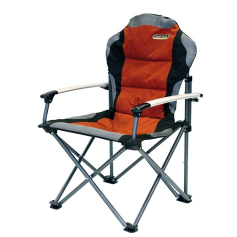quest elite comfort plus folding cing chair paprika