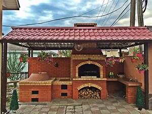 Comment construire un barbecue en brique guide et photos for Cheminee barbecue exterieur en brique