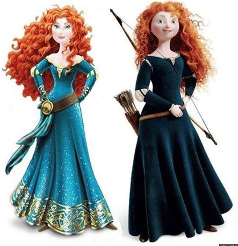 Merida From 'brave' Gets An Unnecessary Makeover, Sparks Changeorg Petition (photo) Huffpost