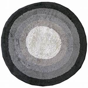 100 cotton round bath mats bathroom washable mat With circle bathroom rugs