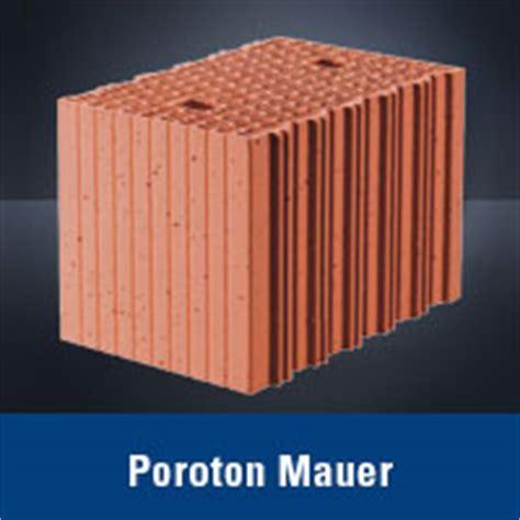 poroton oder porenbeton poroton oder porenbeton