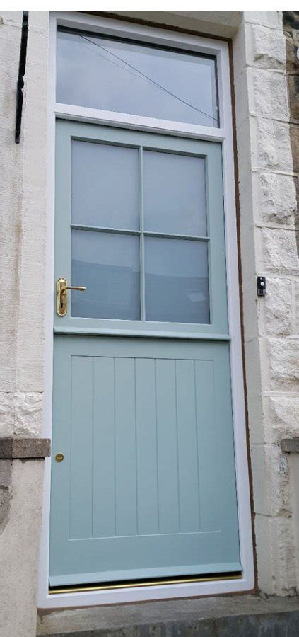 Wood Back Door With Window by Solid Wood Doors Made To Measure Near Ilkley