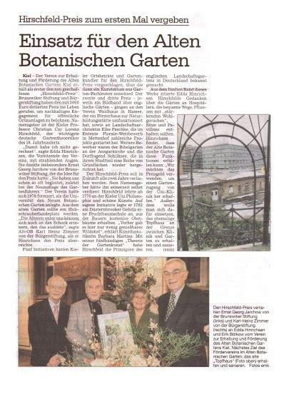 Alter Botanischer Garten Kiel Topfhaus by Alter Botanischer Garten Kiel Presse