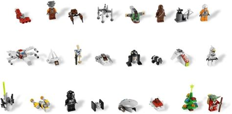 star wars advent calendar brickset lego set guide