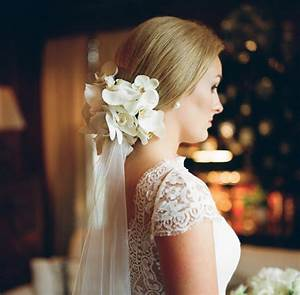 Southern Wedding Orchid Hair Flower