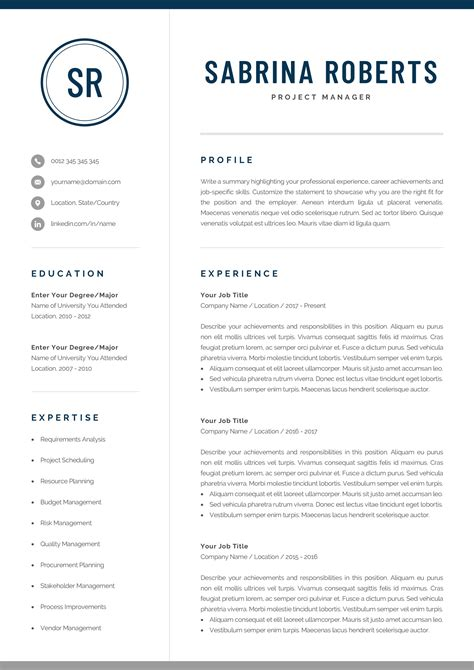 Resume Writing Templates Word by Professional Manager Resume Template For Word Mac Pages