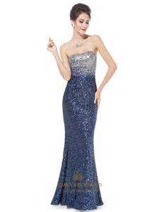 sequin bridesmaid dress sparkly sequin prom dresses 2016 glitter 39 s strapless fit and flare sequins