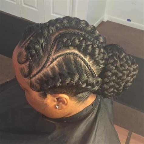 70 best black braided hairstyles that turn heads low bun
