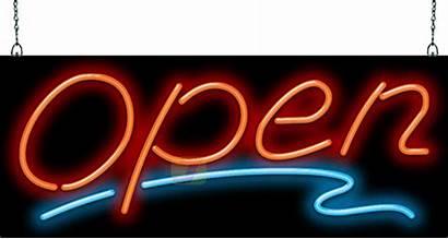 Neon Open Sign Og