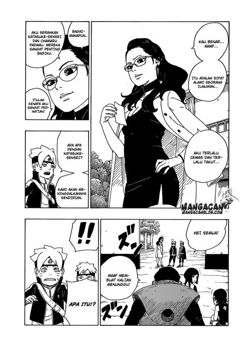 baca komik boruto chapter  bahasa indonesia frnj