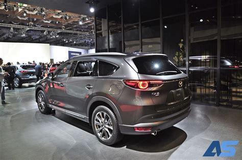 It has a ground clearance of 205 mm and dimensions is 4900 mm l x 1840 mm w x 1730 mm h. Mazda CX-8 พี่ใหญ่ เตรียมเปิดตัวในไทย - รถเปิดตัวใหม่ ...