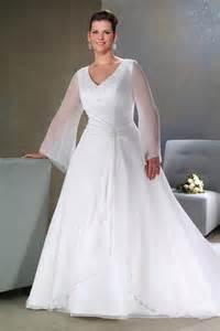plus size sleeved wedding dress plus size wedding dresses with sleeves