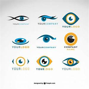 Eyes logos Vector | Free Download