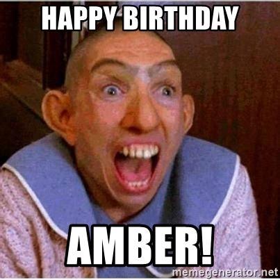 Amber Meme - happy birthday amber pepper american horror story meme generator