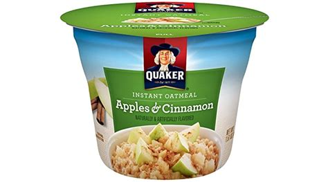 Quaker Instant Oatmeal Express Cups, Apples