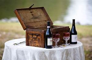 magic unique wedding wine box and love letter ceremony With wine and love letter box