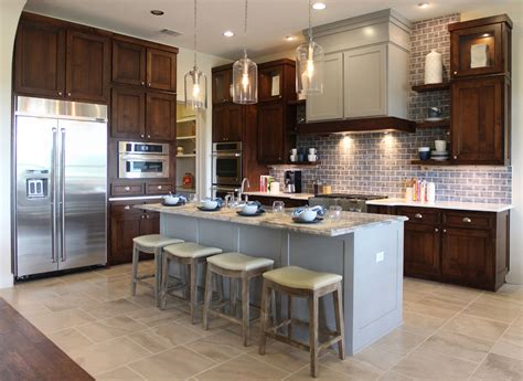 grey stained cabinets kitchen can my kitchen cabinets be different from the rest of my