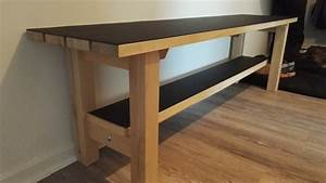 IKEA NORDEN bench upgrade for landing space - IKEA Hackers