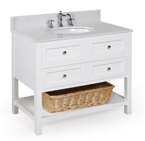 buy yorker 36 inch bathroom vanity white product for