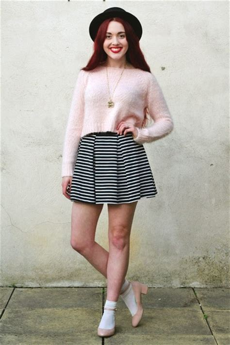 Fluffy Topshop Jumpers Black Heel New Look Shoes Boater Asos Hats | u0026quot;Pretty Casual.u0026quot; by ...