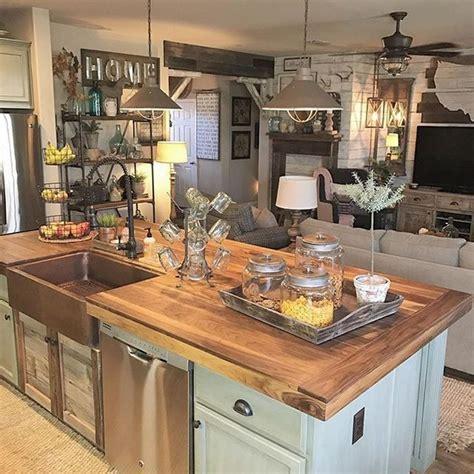 Vintage Farmhouse Kitchen Island Inspirations 22