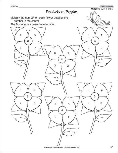 hw worksheets images  grade math