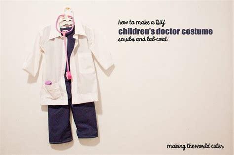 diy childrens doctor costume sew  ill