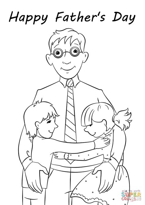 Happy Fathers Day Coloring Pages  Coloring Pages