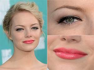 Images Of Prom Makeup For Brown Eyes And Coral Dress Golfclub