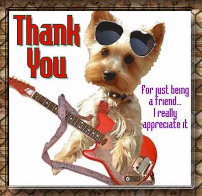 Thank Friend Being Thanks Friendship Card Friends