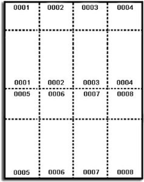 numbered raffle ticket template 7 best images of avery printable event tickets avery raffle ticket templates free free event