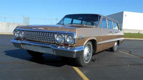 Family Survivor 1963 Chevy Impala Wagon