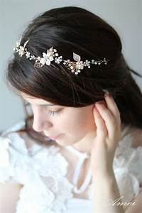 Remarkable Small Flowers For Hair Wedding Golden Tiara