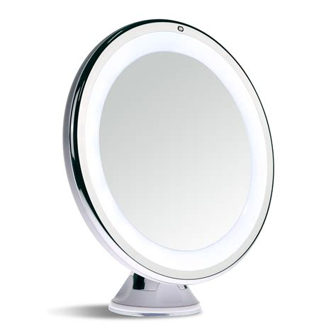 Lighted Magnifying Makeup Mirror by Sanheshun Makeup Mirror 10x Magnifying Lighted Compact