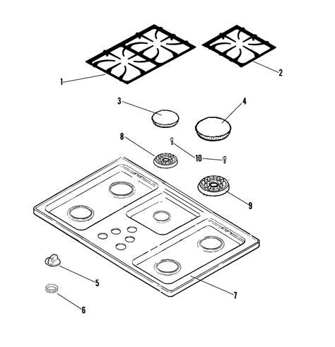 jenn air cooktop parts jenn air cooktop wiring diagram jenn air cooktop manuals