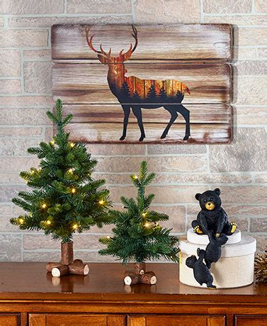 Winter Woodland Home Decor  LTD Commodities