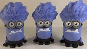McDonalds Despicable Me 2 Evil Purple Minion Giggling Toy ...
