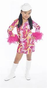 Robe Année 80 : robe disco seventies fille deguisement magic ~ Dallasstarsshop.com Idées de Décoration